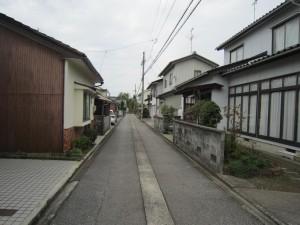 ⑨前面道路1