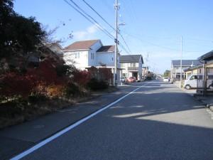④前面道路2